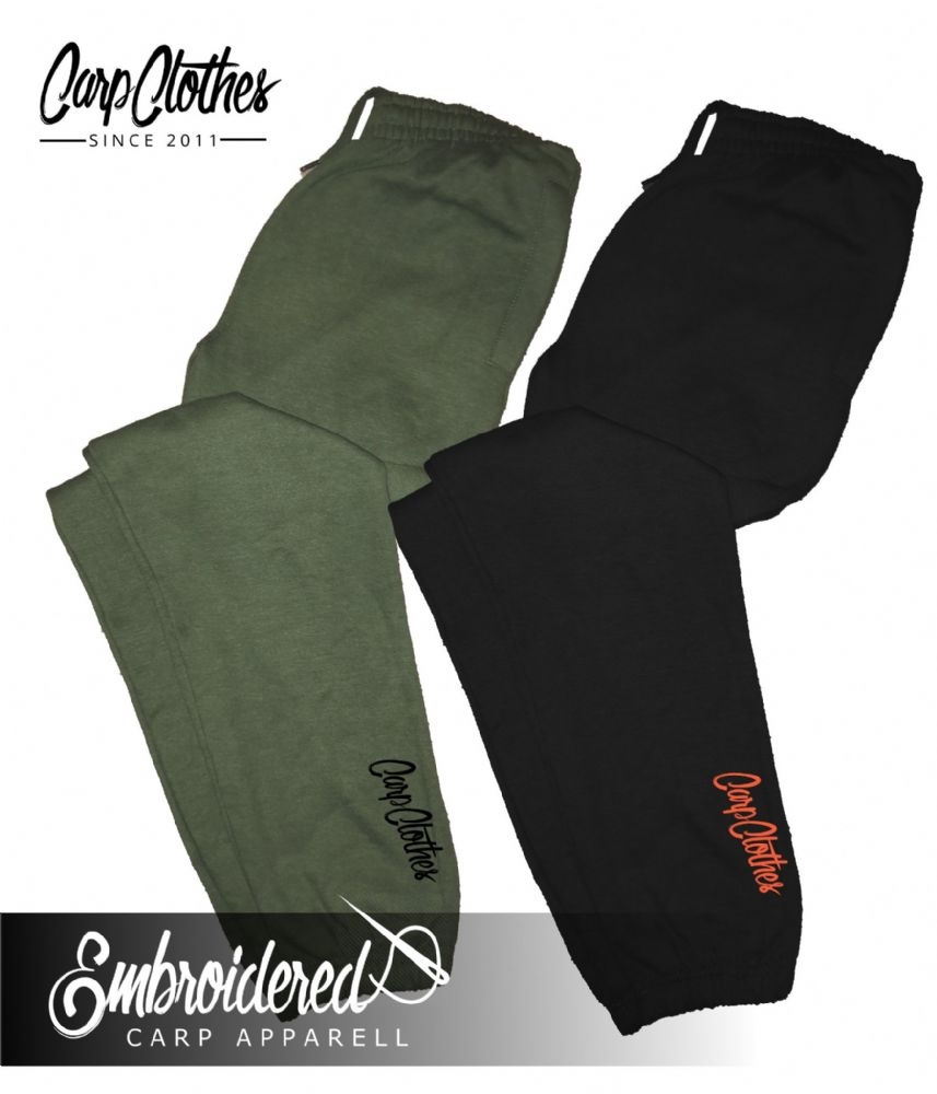 020 EMBROIDERED CARP JOGGERS